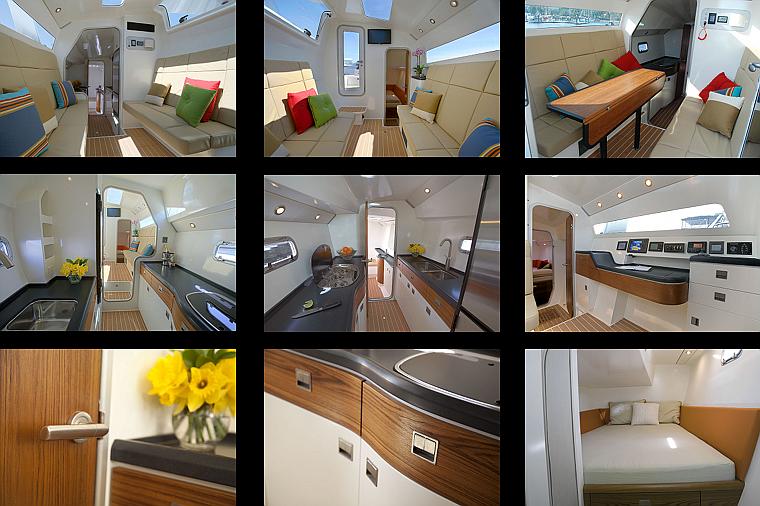 SIG45 - Le Breton Yachts - Interior